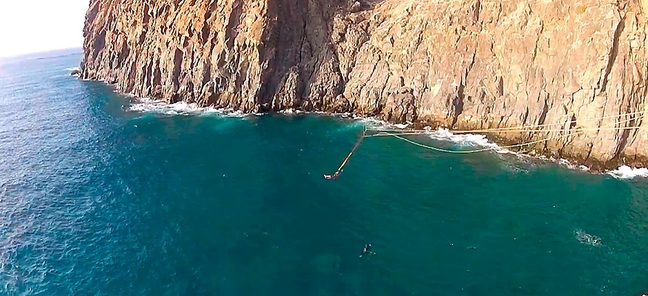 Rope jump Palm-Mar, en Tenerife