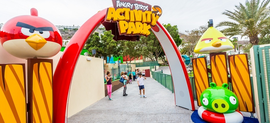 Angry Birds Activity Park Parques temáticos de Gran Canaria